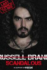 Russell Brand Scandalous - Live at the O2 Arena 123movies