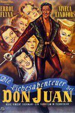 Adventures of Don Juan 123movies