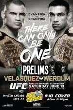 UFC 188 Cain Velasquez  vs Fabricio Werdum Prelims 123moviess.online
