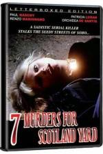Seven Murders for Scotland Yard 123movies