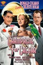 Champagne for Caesar 123movies