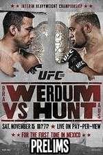 UFC 18  Werdum vs. Hunt Prelims 123moviess.online