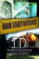 Main Street Mysteries 123movies